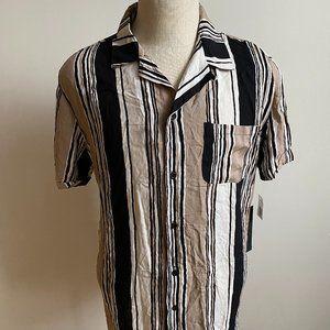 "Kollar BNWT Striped ""resort"" shirt sz Large Mens"